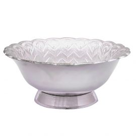 Metal Silver Plated Bowl