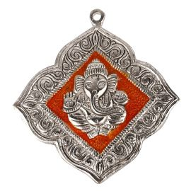 Ganesh  Hanging Floral Orange