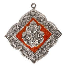 Ganesh  Hanging Floral Orange