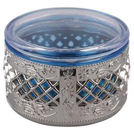 Airtight box Round silver