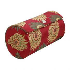 Bangle Box Peacock Feather Big
