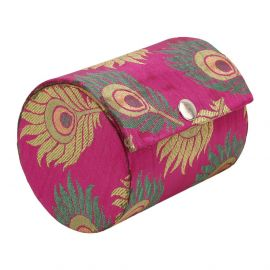 Bangle Box Peacock Feather Small