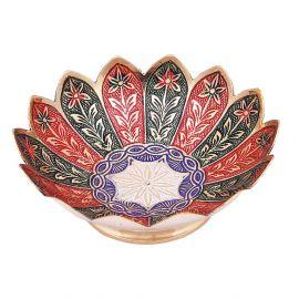 Brass Minakari Kamal Bowl