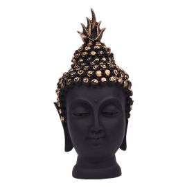 Buddha Head Small Black