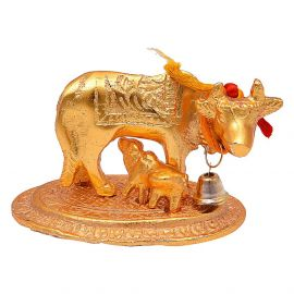 Cow And Calf Mini Gold