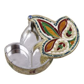 Diya Shaped KumKum Box