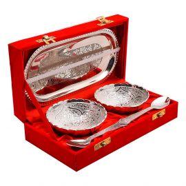 Silver Plated Twin Bowlset - Akaarshak