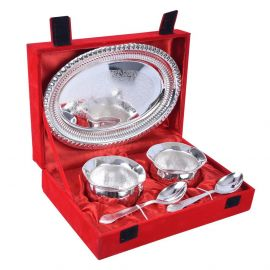 Silver Plated Exotic Bowl set