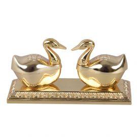 Swan KumKum Box Twin