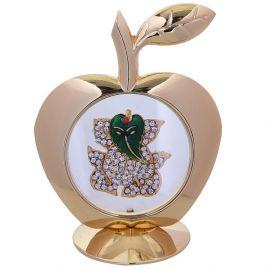 Apple-Leaf Ganesh Stone Studded