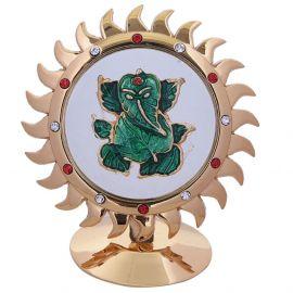 Suraj-Leaf ganesh stand