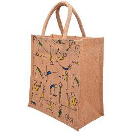 Jute Bag 10x11 - Yoga