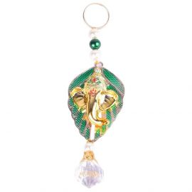 Ganesh Hanging Green Patti