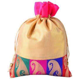 String Bag-Golden Mango butti base