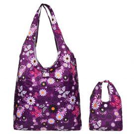 Folding Shopping Bag With Mini Bag