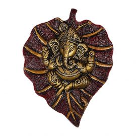 Ganesh Hanging Red Antiq Small