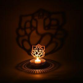 Ganesh Tealight Candle Holder