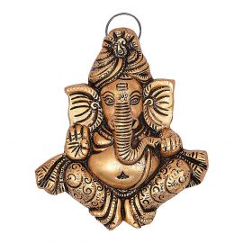 Pagdi Ganesh Golden Antiq Hanging New