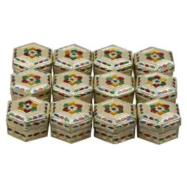 Hexagon shape boxes (Pack of 12 Pcs)