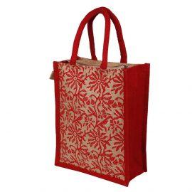 Jute Bag- Floral Print