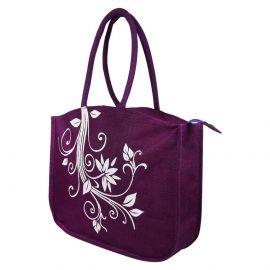 Jute Bag- Floral New