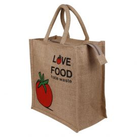 Jute Bag -Love Food