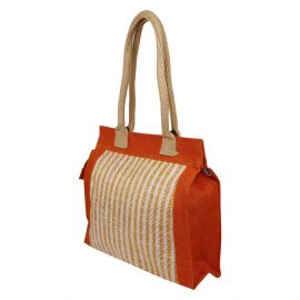 Jute Bag -Vertical Stripes