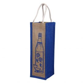 Jute Bag - Bottle Bag