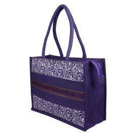 Jute Bag - Traditional Zari
