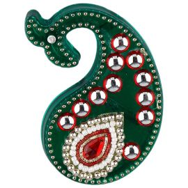 Kumkum Dibbi dolphin Green/Red