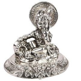 Whitemetal Makhan Krishna