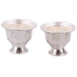 German Silver kumkum bowls