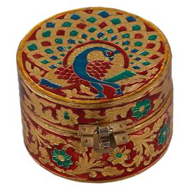 Minakari Box Round Small