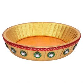 Decorative Round Tray