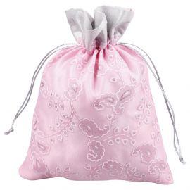 Potli Bag-Floral Print Pink