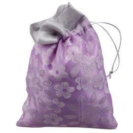 Potli Bag-Floral Print Blue