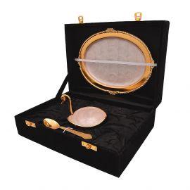Swan Single bowl set gold