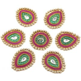 Rangoli Kundan small (7pc set)