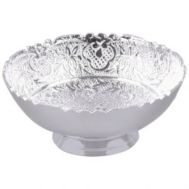 """Silver plated bowl Round 4"""""""