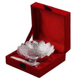Silver Plated Kamal Bowl Set