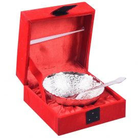"""Silver plated bowlset 4"""" round"""