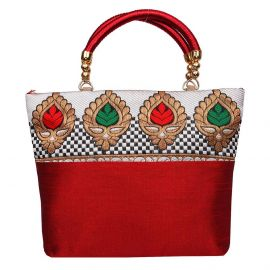 Thilak Leaf border Bag